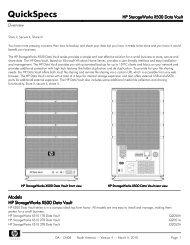 HP StorageWorks X500 Data Vault - mywebtek
