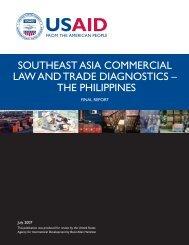 The Philippines - Economic Growth - usaid