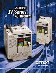 3G3JV Inverter Brochure 3.00