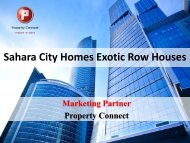 Brochure - Property Connect Search - Propconnect.in