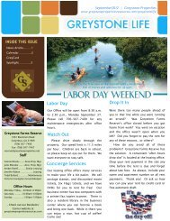 Concierge Services Labor Day Drop It In Watch Out - Greystone ...