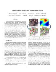 Density-aware person detection and tracking in crowds