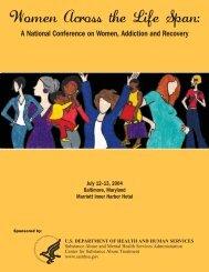 Women Across the Life Span - Women, Children and Families