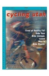 May 2003 Issue - Cycling Utah