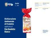 Pan Bauletto Bianco - The International EPD® System
