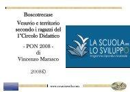 Boscotrecase - Il Vesuvio nel PON dei Ragazzi del 1 ... - Vesuvioweb