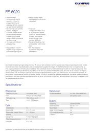 FE-5020, Olympus, Compact Cameras