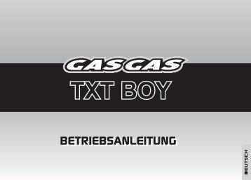 TXT BOY - GasGas