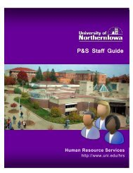 P&S Staff Guide - Vice President of Administration & Financial ...