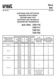 scheda tecnica - DOMUSWIRE