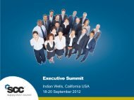Executive Summit - Supply Chain Council