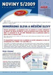 Noviny 5/2009 - Ježek software