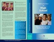 Michigan Merit Curriculum High School Graduation Requirements ...