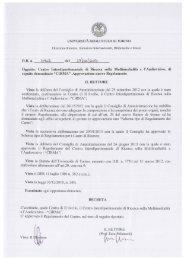 Statuto - CIRMA - Università degli Studi di Torino