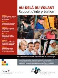 Rapport d'interprétation