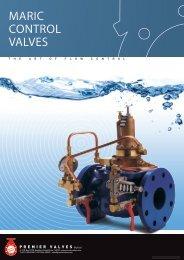 MARIC CONTROL VALVES - Premier Valves