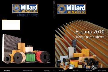 España 2010 - Millard Filters