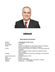 CURRICULUM Antecedentes Personales - Municipalidad de ...