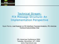 Technical Stream: FIX Message Structure: An Implementation ...