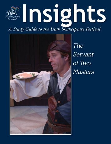 The Servant of Two Masters - Utah Shakespearean Festival