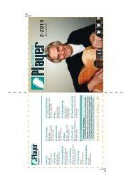 DVD-Cover Ausgabe 2-2013 - ACOUSTIC PLAYER