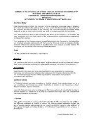 Kotak Mahindra Bank Ltd. 1