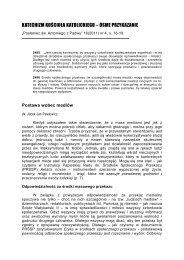 Postawa wobec mediów - Dk. Dr Jacek Jan Pawłowicz