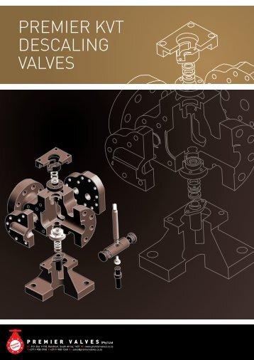 Premier KVT Descaling ValVes