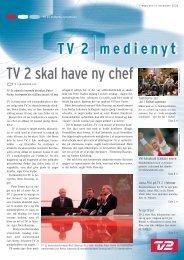 TV 2 skal have ny chef