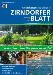 Zirndorfer Blatt Nr. 149 - Das Zirndorfer Blatt
