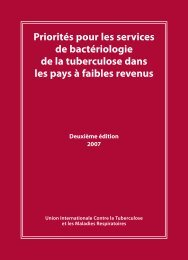 Francais - International Union Against Tuberculosis and Lung Disease