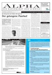 Der gelungene Paarlauf - Tagesanzeiger e-paper - Tages-Anzeiger