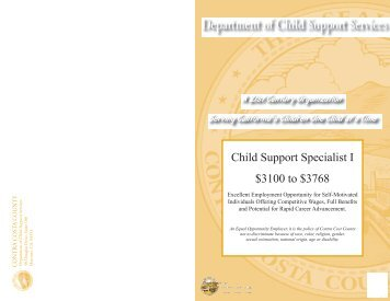 Department of Child Support Services - Contra Costa County