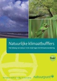 Natuurlijke klimaatbuffers: het belang van natuur in de ... - Natuurpunt