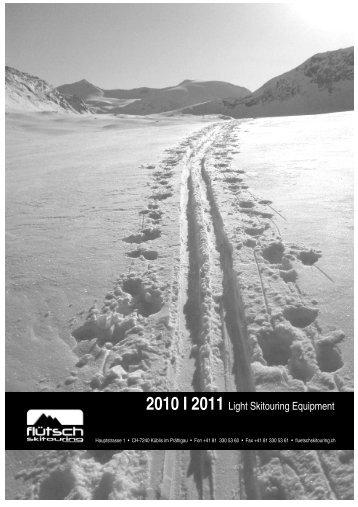 Netto-Preisliste 2010 I 2011 - Flütsch Skitouring Küblis