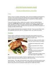 Nutrition made easy - Energy & Metabolism P2