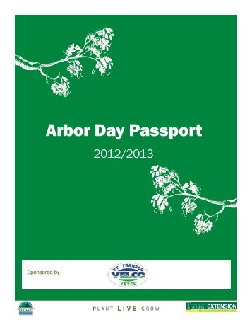 Download the full Arbor Day Passport Workbook