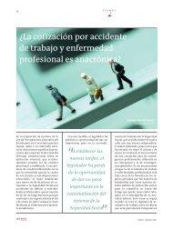 ¿La cotización por accidente de trabajo y enfermedad ... - Lex Nova