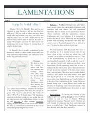Newsletter Issue 6 - University of the Cumberlands