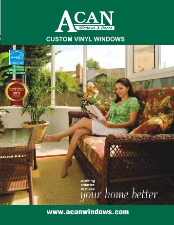 to download and read the ACAN Windows PDF brochure