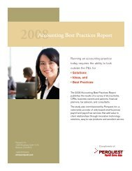 2008Accounting Best Practices Report - SmartPros Accounting