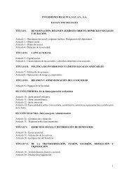 Estatutos - BNP Paribas Wealth Management España