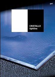CRISTALLO lightline - Glas und Spiegel Shop