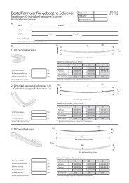 Bestellformular für gebogene Schienen - Herman Gotthardt GmbH
