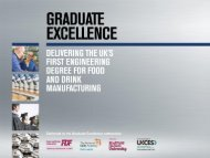 Justine Fosh, CEO, National Skills Academy for Food and Drink ...