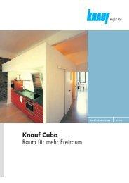 Knauf Cubo Raum für mehr Freiraum