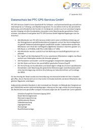 Datenschutz bei PTC GPS-Services GmbH - Telematik Markt