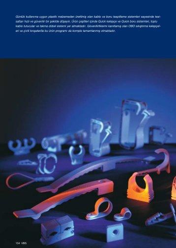 VBS. Plastik Kablo ve Boru Tespitleme Sistemleri - OBO Bettermann