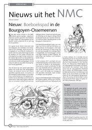 jg9_nr3_Nieuws uit het NMC.pdf - Natuurpunt Gent