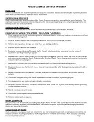 FLOOD CONTROL DISTRICT ENGINEER – Mohave County